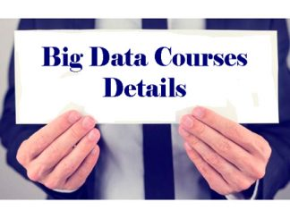 Big Data Courses Details