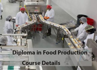 Diploma in Food Production Course Details