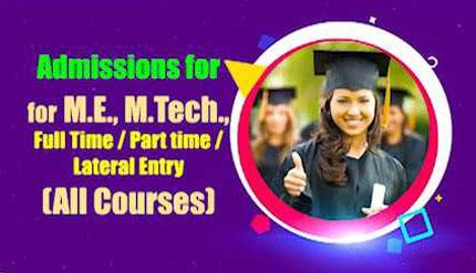 M.E or M.Tech Course