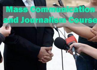 Mass Communication and Journalism Course