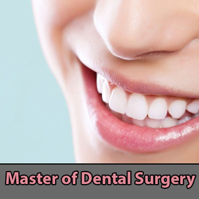 Master of Dental Surgery