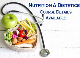 Nutrition & Dietetics Course Details