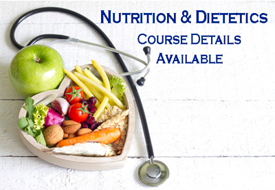 Nutrition & Dietetics (Dietician) Course Details - Career