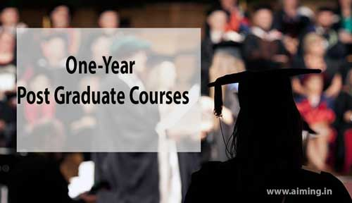 One year Post Graduate Courses
