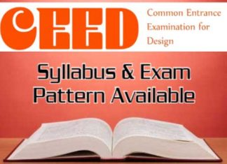 CEED Exam Details