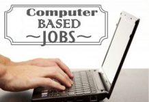 Computer Based Jobs