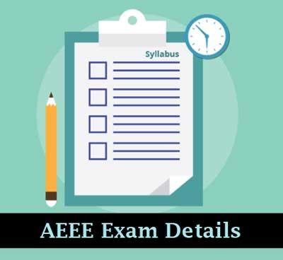 AEEE Exam Details