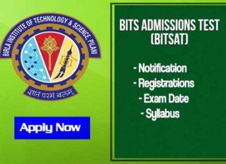 About BITSAT Exam