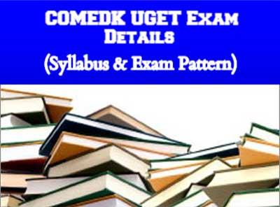 COMEDK UGET Exam Details