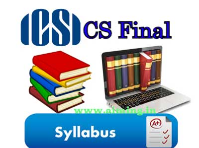 CS Final Syllabus
