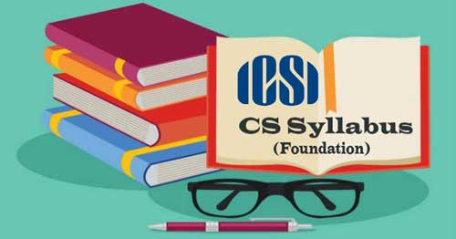 CS Foundation Syllabus