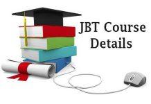 JBT Course Details