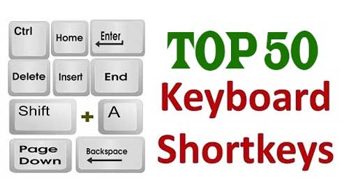 Keyboard Shortcut Keys for Windows