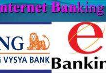 Net Banking in ING Vysya Bank