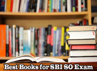 Best Books for SBI Specialist Officer