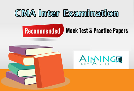 CMA Inter Mock Test Papers