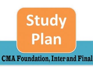 CMA Study Plan