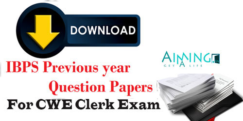 Ibps Exam Previous Papers Pdf