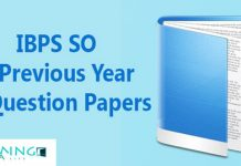 IBPS SO Previous Year Question Papers