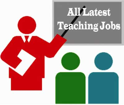 Latest Government Teaching Jobs for TGT/PGT/PRT