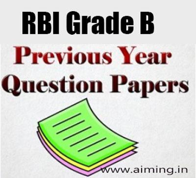 rbi grade b officer 2016 question paper