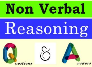 Non Verbal Reasoning Questions and Answers