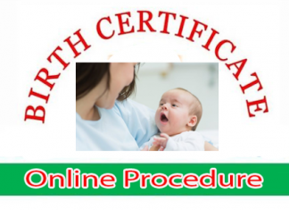 UP Birth Certificate Apply Process
