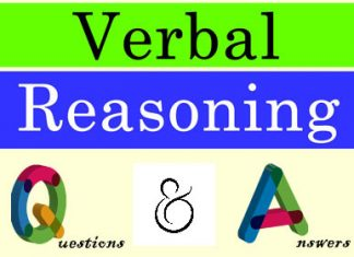 Verbal Reasoning Questions and Answers