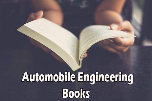 Automobile Engineering Books