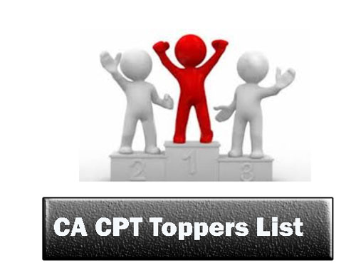 CA CPT Toppers List