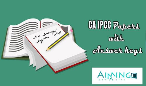 CA IPCC Papers
