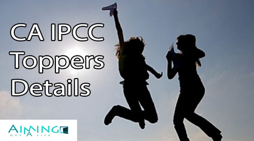 CA IPCC Toppers List