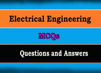 Electrical Engineering Objective Questions MCQ with Answers