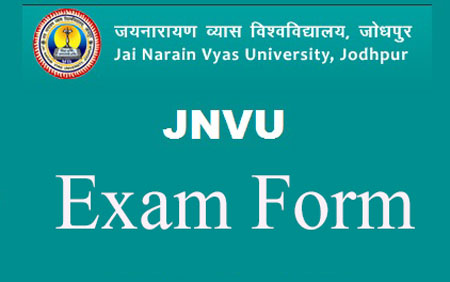 JNVU Exam Form
