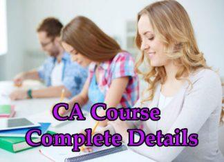 CA Course Details