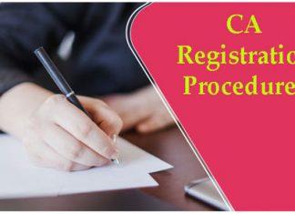 CA Registration Procedure