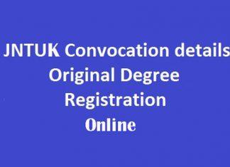 How To Apply For JNTUK Original Degree (OD) Online