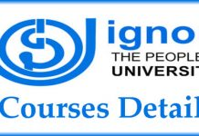IGNOU University Courses