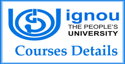 IGNOU University Courses