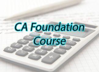 CA Foundation Course