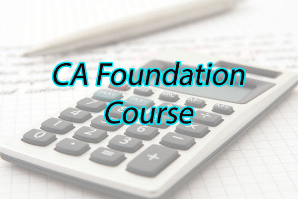 CA Foundation Course