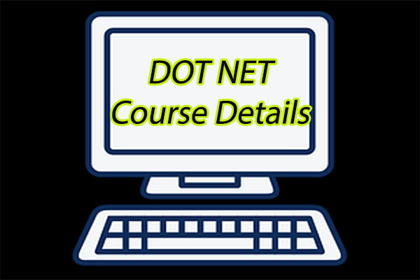 Dot Net Course Details