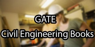 GATE Civil Engineering Books