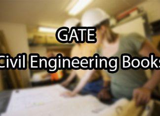 GATE Civil Engineering Books