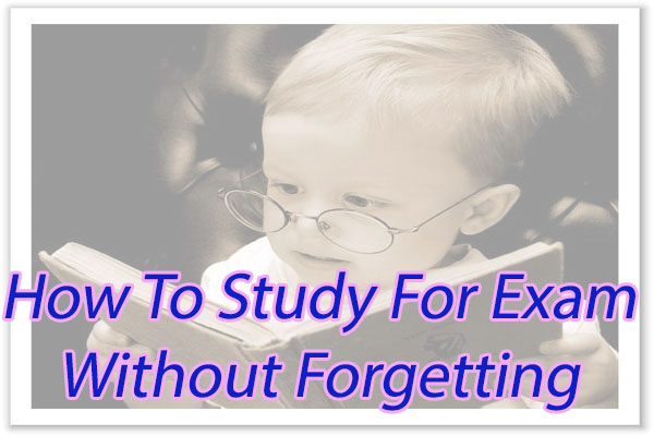 How to Study For Exam