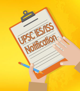 UPSC IES/ISS 2019 Notification