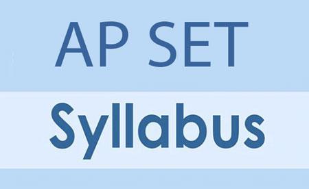 AP SET Syllabus