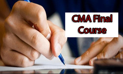 CMA Final Course Details