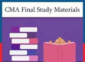 CMA Final Study Materials