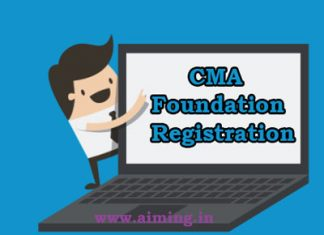 CMA Foundation Registration